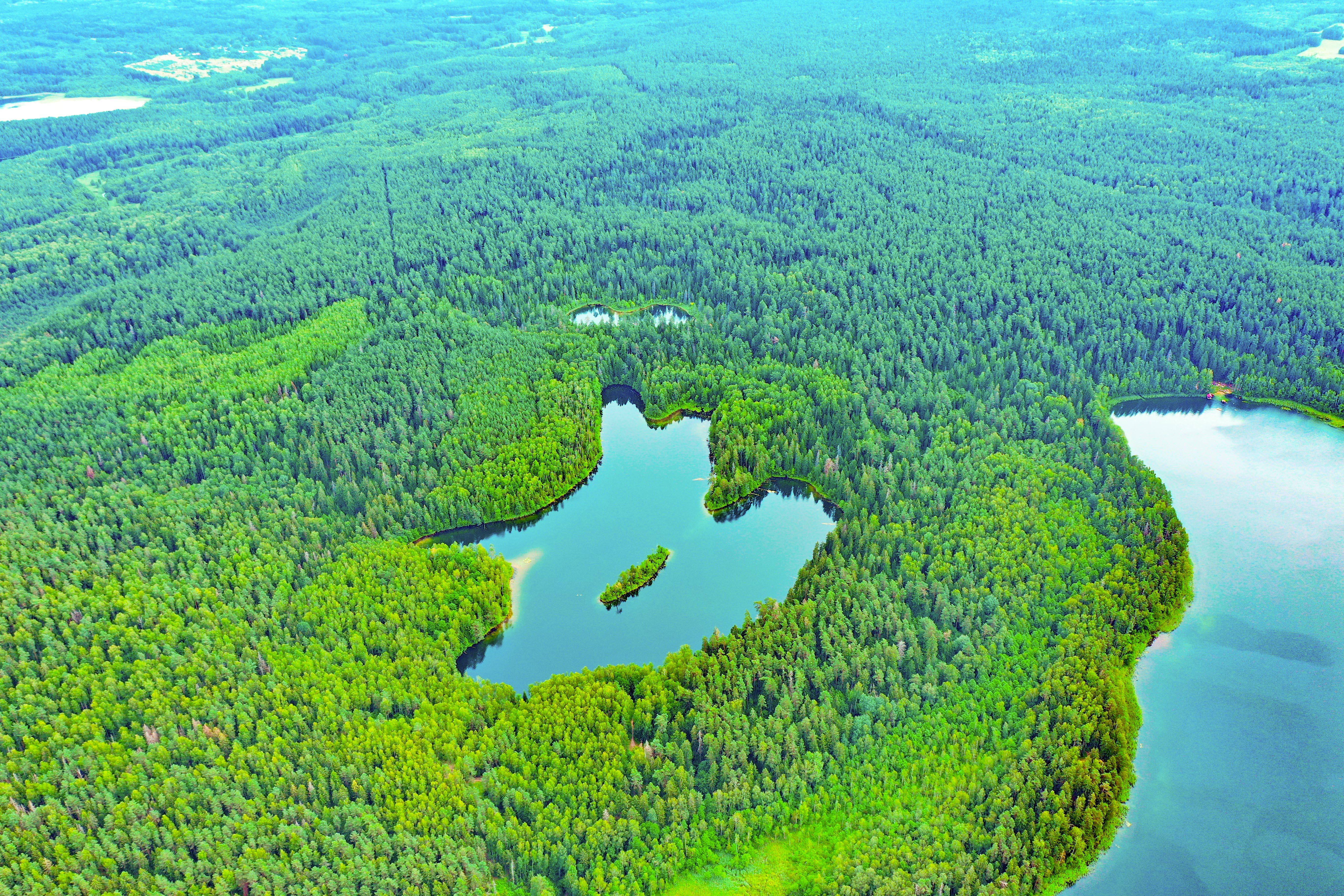 Экскурсия Голубые Озера из Минска