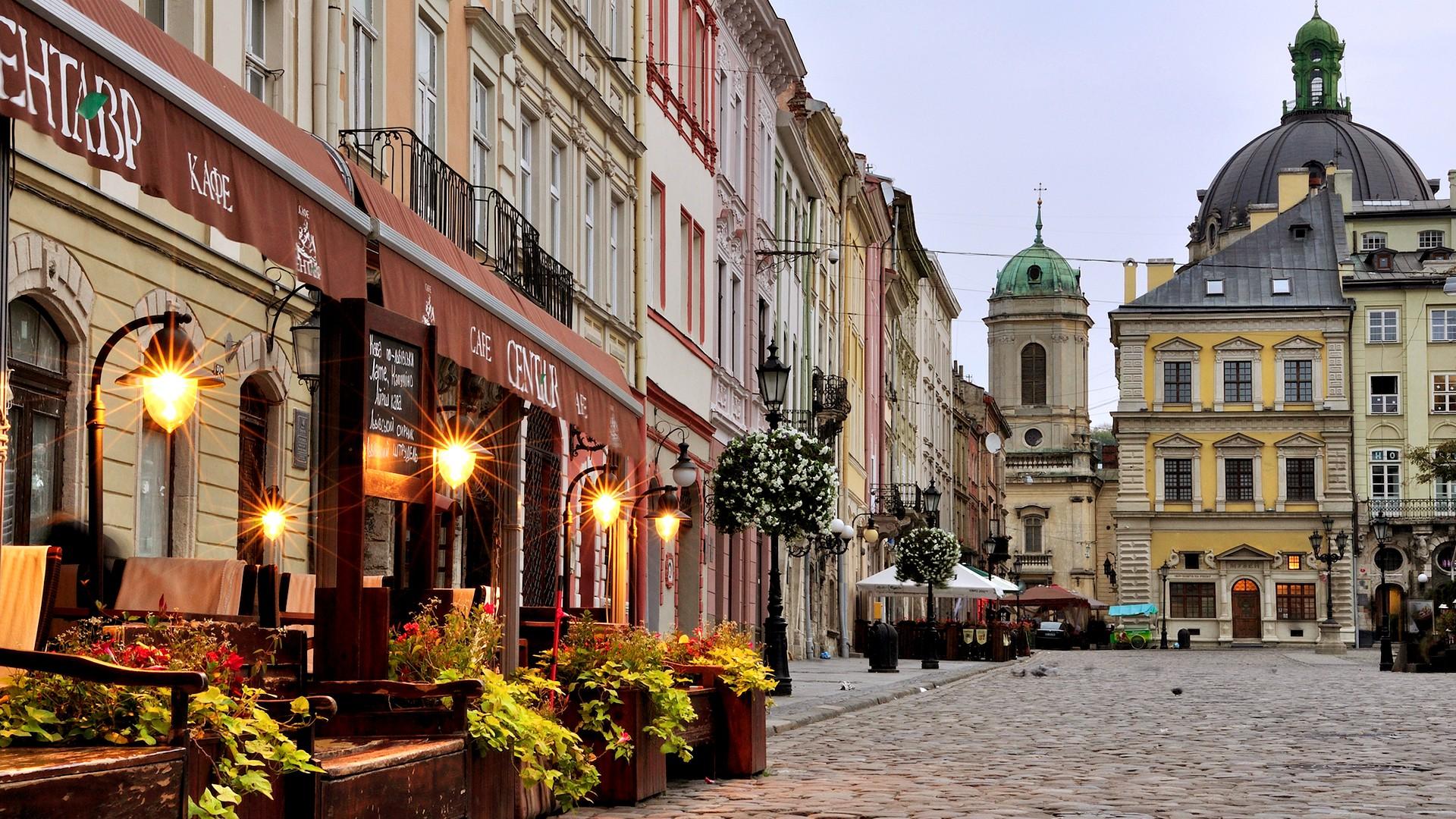Рыночная Площадь, тур Львов